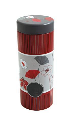 James Premium Kaffeepad-Dose, Blech, Mehrfarbig mit Metallpadheber