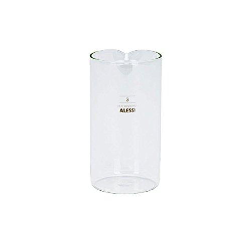 Alessi Ersatzglas zu 9094/3 Kaffeezubereiter Klein 240 ml