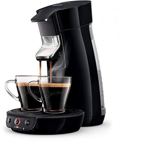 Philips Senseo Viva Cafe HD6561/68 Nr. 1 Kaffepadmaschine (Crema plus, Kaffee-Stärkeeinstellung) schwarz + Aktionsteilnahme möglich (200 gratis Pads nach Kauf)