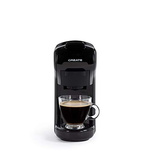 CREATE IKOHS Kaffeeautomat Espresso Italiano - Multikapselmaschine Nespresso 3 in 1, Kapsel Kaffemaschine, 1450 Watt, 19 Bar, einfache Zubereitung, platzsparend, Behälter 0,7 L,