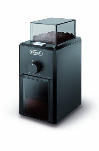 De'Longhi KG 79 Professionelle Kaffeemühle (Kunststoffgehäuse, bis zu 12 Tassen) schwarz