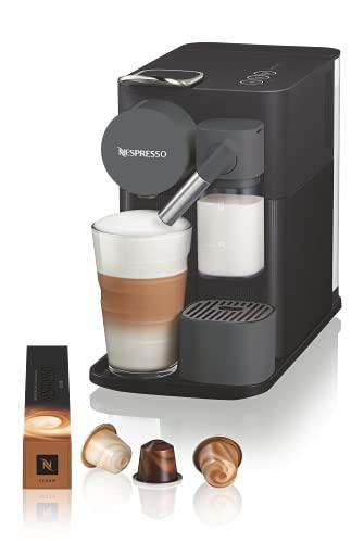 De'Longhi Nespresso Lattissima One Kaffeemaschine, Shadow Black, EN510.B
