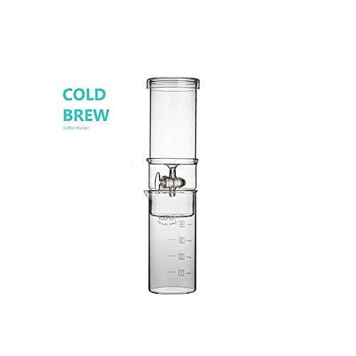 CXYP Kalt Brew Kaffeemaschine (600ml 4 Tassen),Cold Brew Kanne für Eiskaffee und Eistee,Cold drip Coffee,EISkaffeebehälter.Cold Brew Maker,Ice Kaffee Maker.