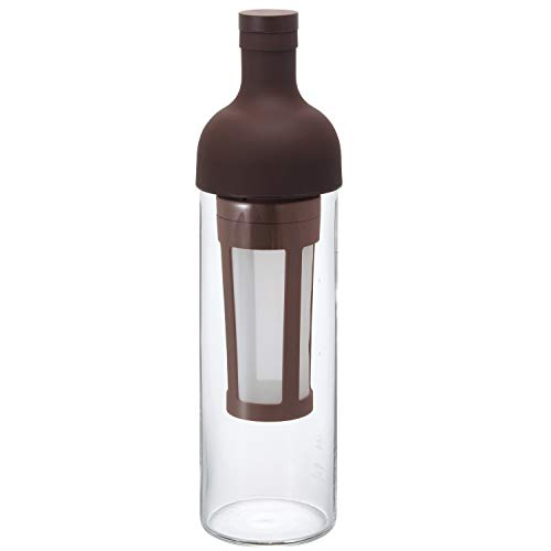 Hario 'Filter in Coffee Bottle' Kaffeebereiter für Coldbrew / kaltgebrühten Kaffee (dunkelbraun)
