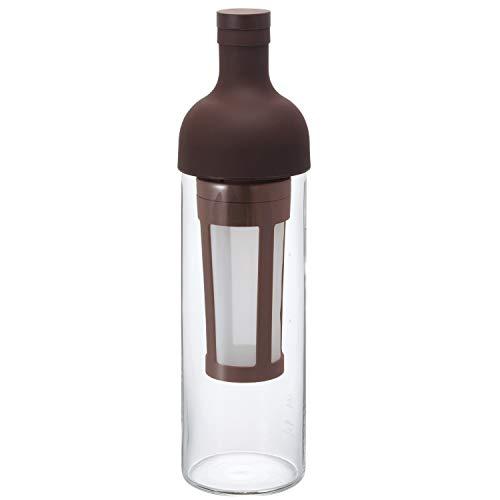 Hario 'Filter in Coffee Bottle' Kaffeebereiter für Coldbrew / kaltgebrühten Kaffee (dunkelbraun)