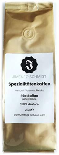Spezialitätenkaffee aus Mexiko | speciality coffee | Kaffeebohnen | 100% Arabica | säurearm | schonend geröstet | hochwertiger Kaffee | ideal für den Vollautomat | Bio Anbau | 250g Packung