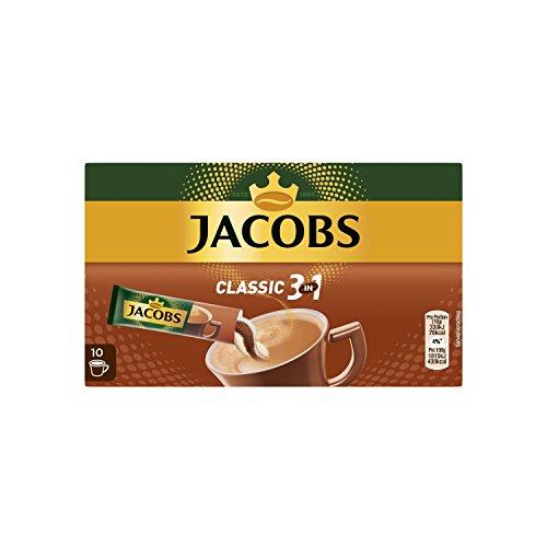 Jacobs Kaffeespezialitäten 3 in 1, 120 Sticks mit Instant Kaffee, 12 x 10 Getränke