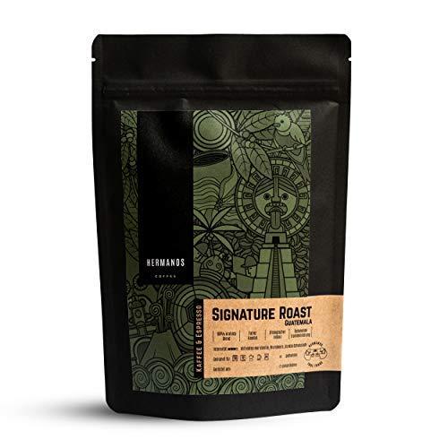 HERMANOS COFFEE   'Signature Roast'   Spezialitätenkaffee aus Guatemala   ganze Bohne   Röstkaffee   Fair gehandelt