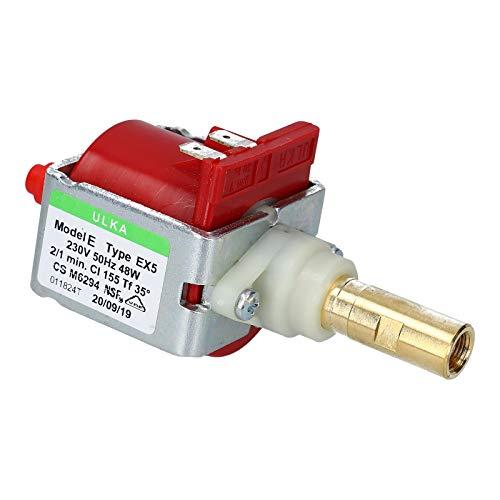 DL-pro Pumpe passend für Philips Seaco Ulka EX5 230 Volt 48 Watt Wasserpumpe Kaffeemaschinenpumpe für Kaffeemaschine Saeco Gaggia Moulinex Krups