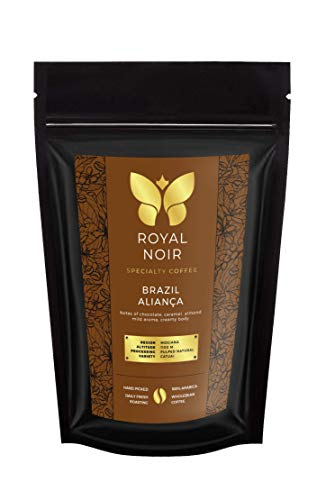 Premium Kaffee | Specialty Coffee | 100% Arabica | Kaffee Ganze Bohnen | Vollmundig & Frisch Geröstet | Premiumqualität | von Hand geerntet | (Brazil Alianca, 1)