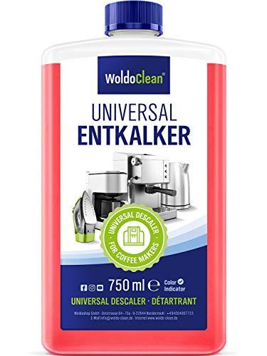 Entkalker für Kaffeemaschinen & Kaffeevollautomaten - 750ml ausreichend für 6 Anwendungen