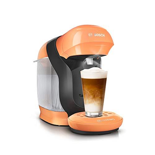 Tassimo Style Kapselmaschine TAS1106 Kaffeemaschine by Bosch, über 70 Getränke, vollautomatisch, geeignet für alle Tassen, platzsparend, 1400 W, peach