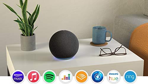 Echo (4. Generation) | Mit herausragendem Klang, Smart Home-Hub und Alexa | Anthrazit