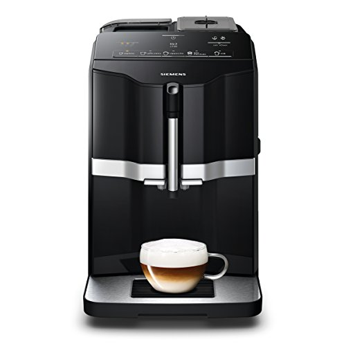 Siemens EQ.3 s100 TI301509DE Kaffeevollautomat (1300 Watt, Keramik-mahlwerk, Direktwahltasten) schwarz