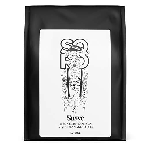 ESCURO Espresso Bohnen - Single Origin Arabica Kaffeebohnen aus Guatemala - Schonend geröstet in Deutschland, säurearm - Perfekt für Vollautomat, Espressomaschine und Siebträger - Specialty Coffee