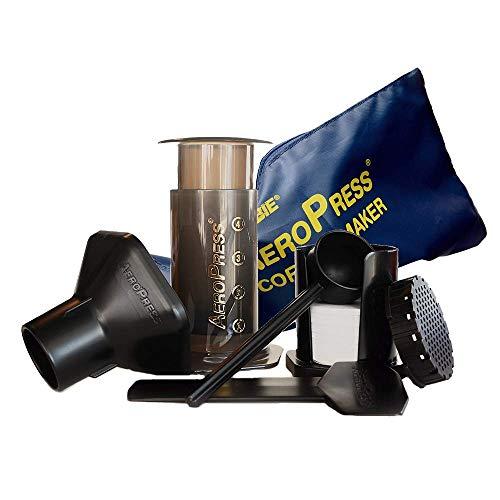 Aero Press Coffee Maker, schwarz, It 1 to 4 Cups of or Espresso