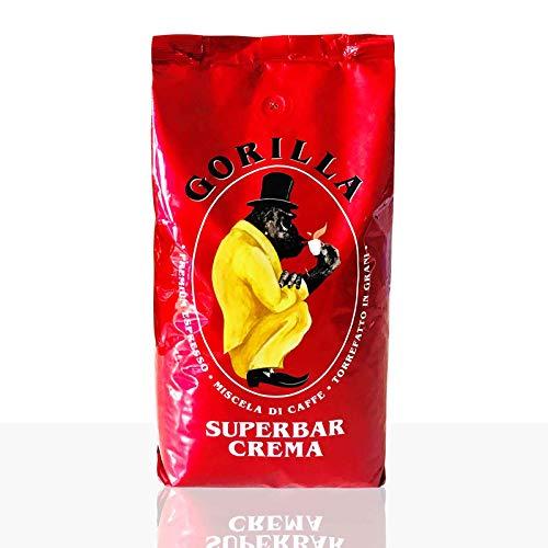 Gorilla Espresso Super Bar Crema 12 x 1kg, Kaffee ganze Bohne