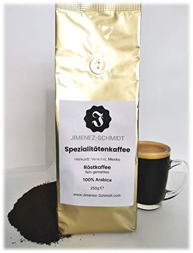 Spezialitätenkaffee aus Mexiko   Röstkaffee fein gemahlen   100% Arabica   säurearm   langsame Trommelröstung   frische Ernte 2020   Bio Anbau   specialty coffee   250g Packung