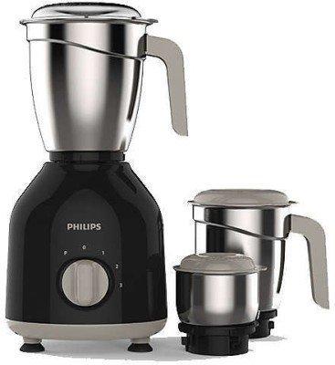 Philips HL7756/00 750 Watt Mixer Grinder mit 3 Gläsern (schwarz)
