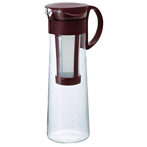 Hario Mizudashi Cold Brew Coffee Pot Teekanne, Glas, braun