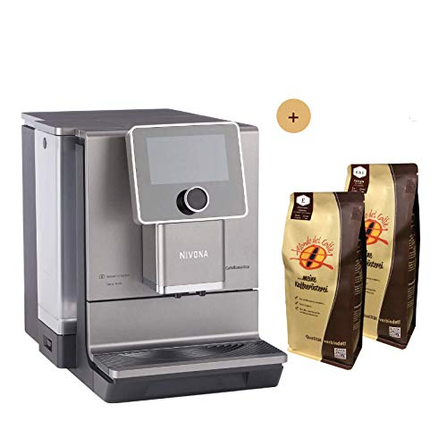 Nivona Kaffeevollautomat CafeRomatica NICR 970 Aktionsbundle mit 2 * 1 kg Kaffee/Espresso Mondo del Caffè