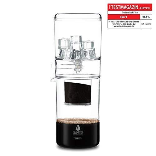 DRIPSTER Cold Brew Dripper (600ml), Kaffeemaschine, Cold Drip Coffee Maker für kaltgebrühten Kaffee und Tee
