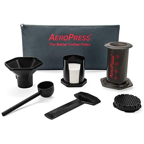 Aero Press Coffee Maker, Kunststoff, schwarz, It 1 to 4 Cups of or Espresso