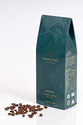 Farallones Artesano ganze Bohnen kolumbianischer Specialty Kaffee- der einzige vollständig zertifizierte kolumbianische Single Origin Kaffee– auf der Plantage versiegelt und nur von Ihnen entsiegelt