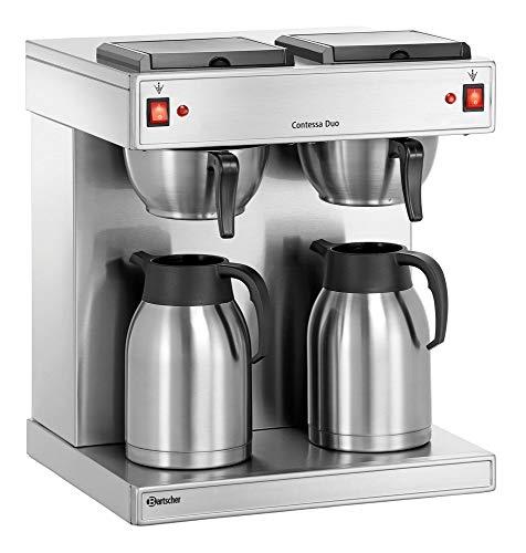 1x Bartscher Doppel-Kaffeemaschine 'Contessa Duo' Elektro, Kaffeeautomat