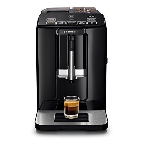 Bosch VeroCup 100 TIS30159DE Kaffeevollautomat (1300 Watt, Keramikmahlwerk, Direktwahltasten) schwarz