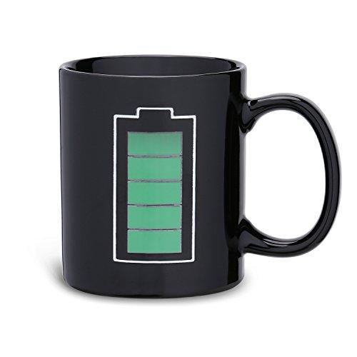 Incutex Color changing mug Tasse mit Thermoeffekt Farbwechseltasse - Batterie