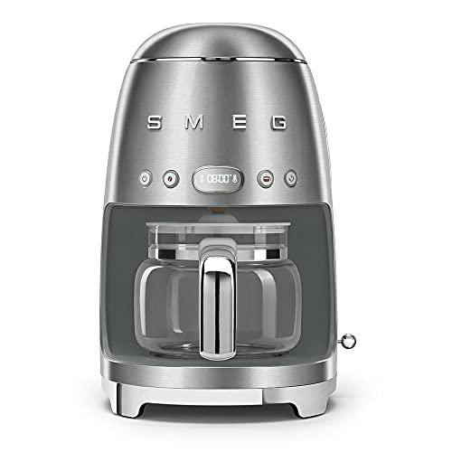 Smeg DCF02SSEU Filterkaffeemaschine, 18/8 Stainless Steel