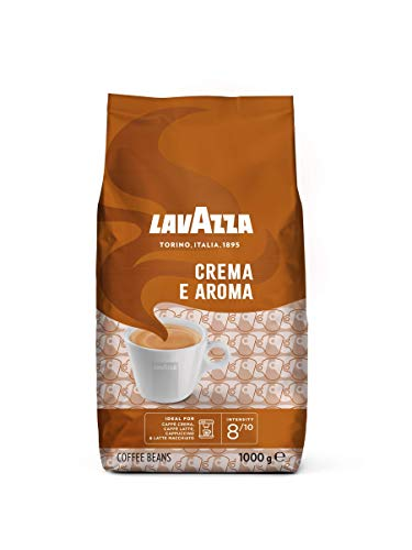 Lavazza Kaffeebohnen, Caffè Crema e Aroma, 1er Pack (1 x 1 kg)