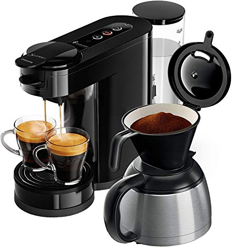 Philips Senseo HD6592/60 Switch 2-in-1 Kaffeemaschine, schwarz