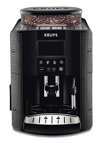 Krups EA815070 Kaffeevollautomat (1450 Watt, 1,8 Liter, 15 bar, LC Display, CappuccinoPlus-Düse) schwarz