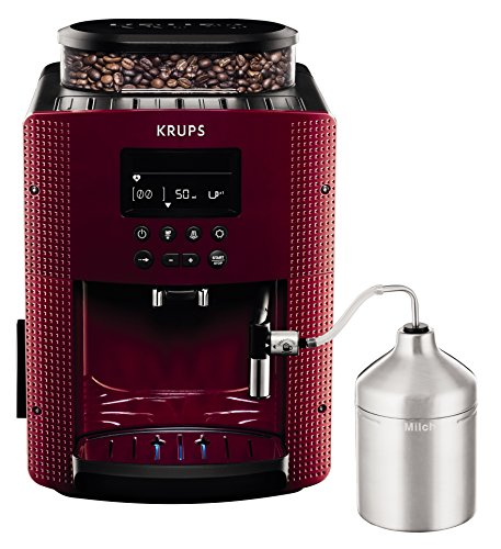 Krups EA816570 Kaffeemaschinen, Espresseria Automatic Display, rot