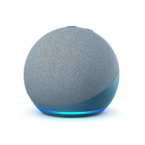 Der neue Echo Dot (4. Generation) | Smarter Lautsprecher mit Alexa | Blaugrau