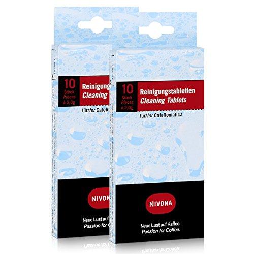 2 x Nivona Reinigungstabletten NIRT 701 VE10, 2 x 10 Stück à 2 g